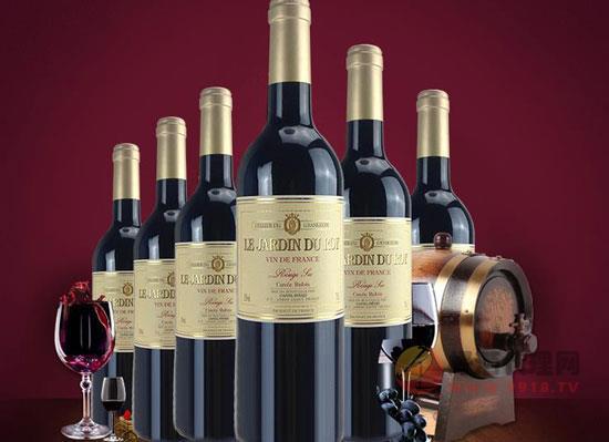 皇家花園紅寶石紅葡萄酒多少錢一瓶,價格怎么樣