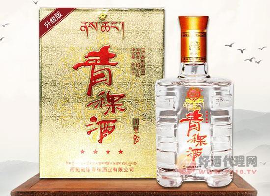 西藏四星青稞酒价格怎么样,多少钱一瓶