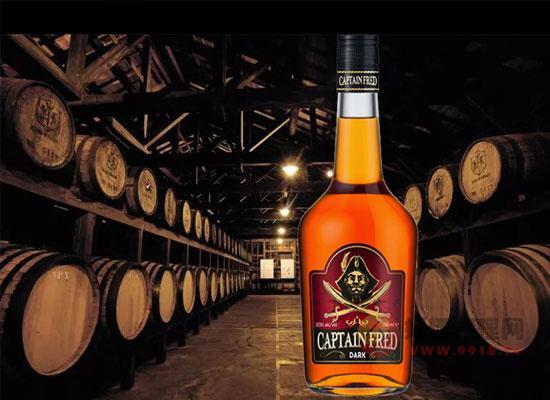 弗萊德船長黑朗姆酒一瓶多少錢,性價比怎么樣