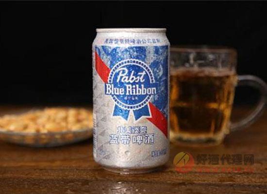 蓝带啤酒好喝吗,蓝带啤酒和百威啤酒哪个好