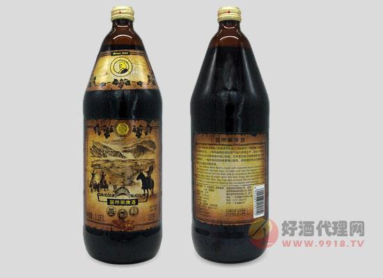 藍帶啤酒精釀黑啤價格怎么樣,一瓶多少錢