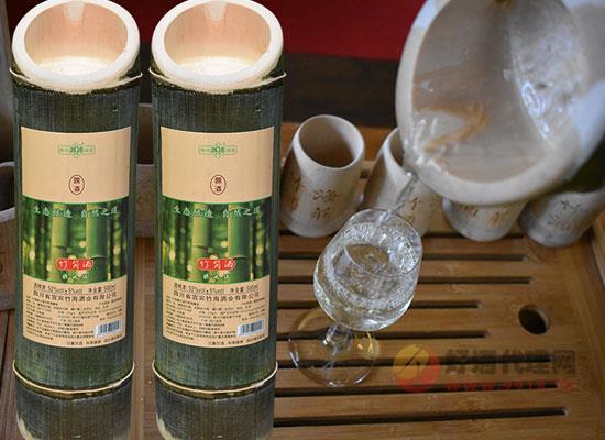 竹海野竹仙竹筒酒多少钱一瓶,性价比怎么样