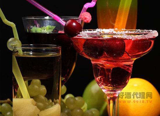 葡萄酒可以做鸡尾酒吗,葡萄鸡尾酒怎么做