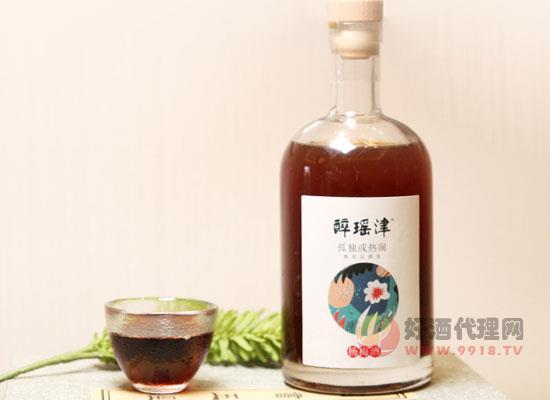 醉瑶津自酿杨梅酒价格怎么样,一瓶多少钱