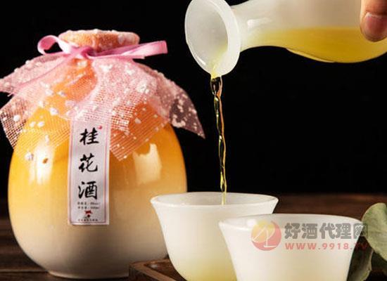 桂花酒搭配什么一起吃比较好,它适合什么人喝