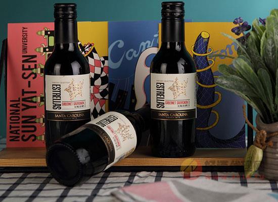 富隆胜卡罗赤霞珠红酒是什么酒,智利原装进口酒水
