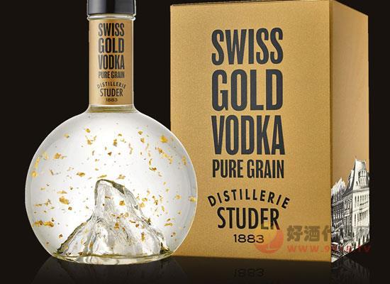 瑞士黄金伏特加价格怎么样,一瓶多少钱