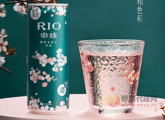 RIO锐澳鸡尾酒微醺樱花风味一箱多少钱,性价比怎么样