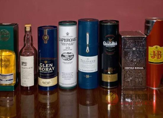 为什么大多数威士忌都是700ml,威士忌有几种酒瓶容量