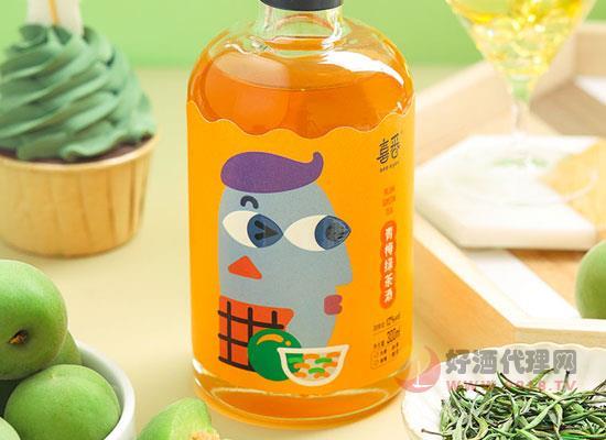 喜番青梅绿茶酒价格怎么样,一瓶多少钱
