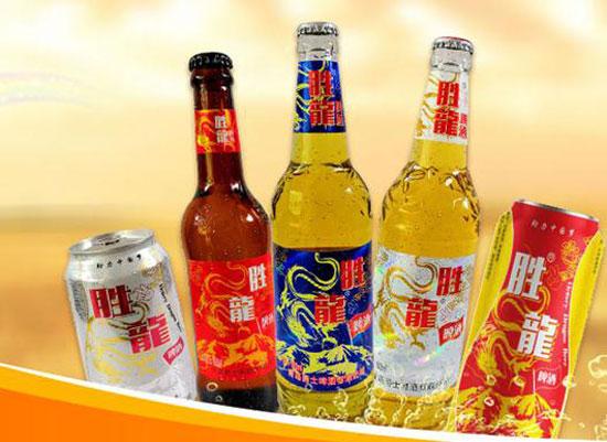 喝勝龍啤酒,品味精彩人生!