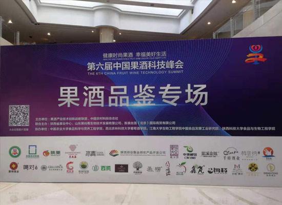 煙臺蜜點酒業亮相2019第六屆中國果酒科技峰會