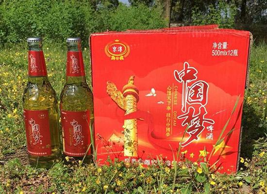 京淳中國夢啤酒,陪你紅紅火火過小年!