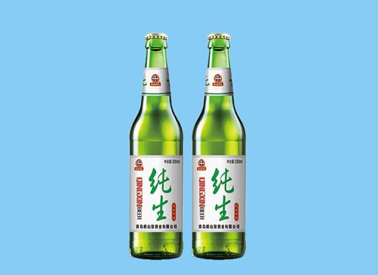 鼠年到了,崂山泉啤酒祝您新年快乐!