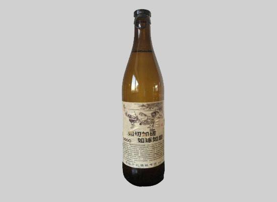 青島千紅精釀啤酒怎么樣,文案復古瓶,美味又獨特