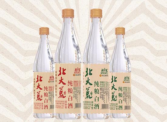 北大荒纯粮白酒,低门槛、高利润的品质光瓶酒